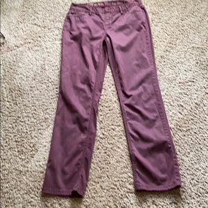 Talbots Signature straight fit jean style chinos